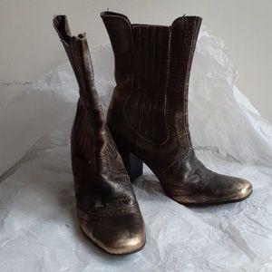 Matisse Addie pull on heel boots 7.5